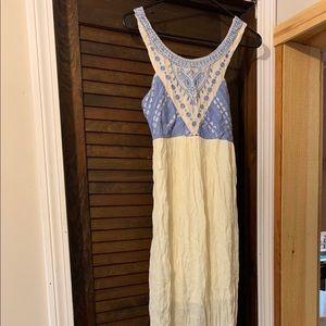 Floor length summer dress